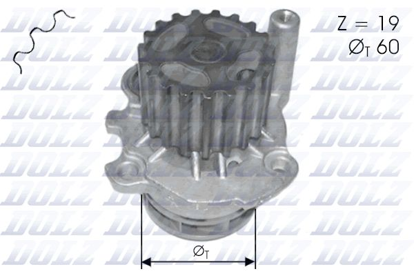 DOLZ Waterpomp (C110)