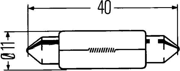 HELLA Gloeilamp STANDARD (8GM 002 091-131)