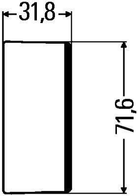 HELLA Afdekking (9HB 161 122-012)