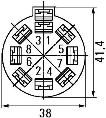 HELLA Stekker (8JA 500 431-002)
