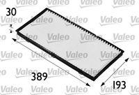 VALEO Interieurfilter VALEO ESSENTIAL (698174)
