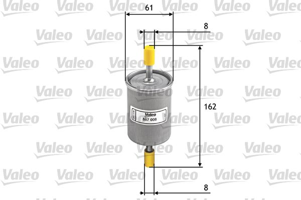 VALEO Brandstoffilter (587008)