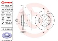 BREMBO Remschijf COATED DISC LINE (08.A534.11)