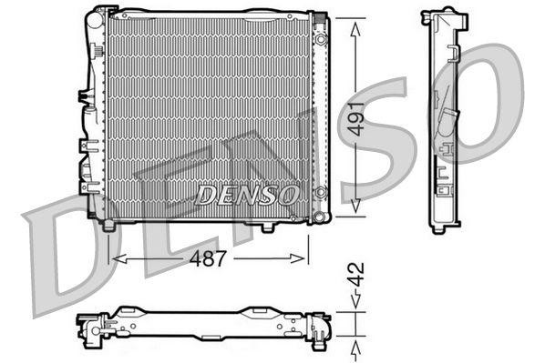 DENSO Weerstand, interieurventilator (DRS21001)