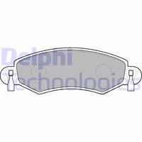 DELPHI Hoofdcilinder, koppeling (LM70223)