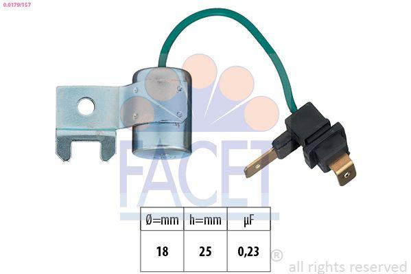 FACET Condensator, ontstekingssysteem Made in Italy - OE Equivalent (0.0179/157)