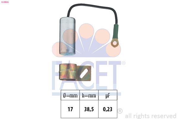 FACET Condensator, ontstekingssysteem Made in Italy - OE Equivalent (0.0675/31)