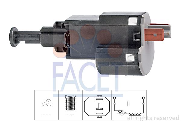 FACET Sensor, olietemperatuur Made in Italy - OE Equivalent (7.3099)