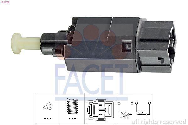 FACET Sensor, brandstoftemperatuur Made in Italy - OE Equivalent (7.3087)