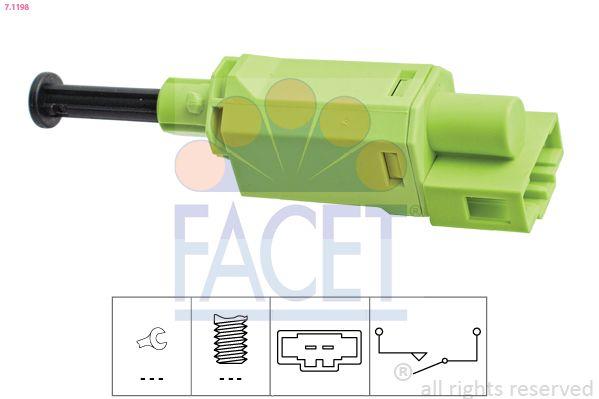 FACET Sensor, brandstoftemperatuur Made in Italy - OE Equivalent (7.3136)