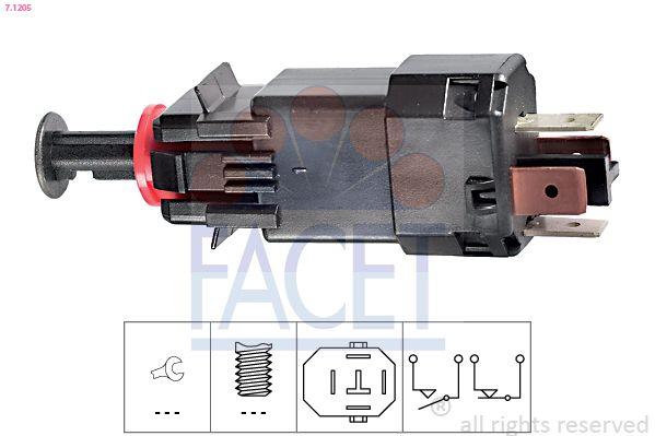 FACET Sensor, olietemperatuur Made in Italy - OE Equivalent (7.3144)