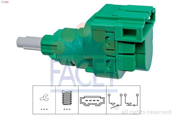 FACET Sensor, olietemperatuur Made in Italy - OE Equivalent (7.3172)