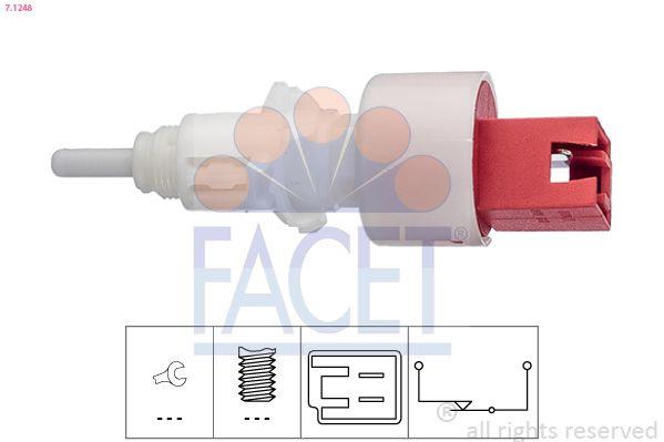 FACET Sensor, brandstoftemperatuur Made in Italy - OE Equivalent (7.3225)