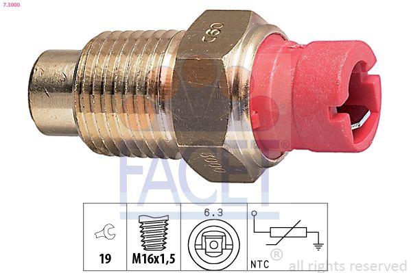 FACET Sensor, brandstoftemperatuur Made in Italy - OE Equivalent (7.3286K)
