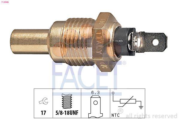 FACET Sensor, olietemperatuur Made in Italy - OE Equivalent (7.3292)