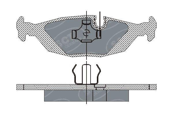 SCT - MANNOL Remblokkenset, schijfrem (SP 147 PR)