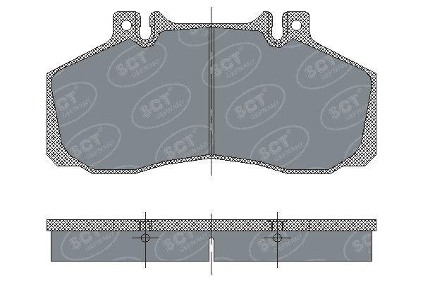 SCT - MANNOL Remblokkenset, schijfrem (SP 230 PR)