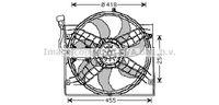 AVA QUALITY COOLING Radiateur (ALA2038)