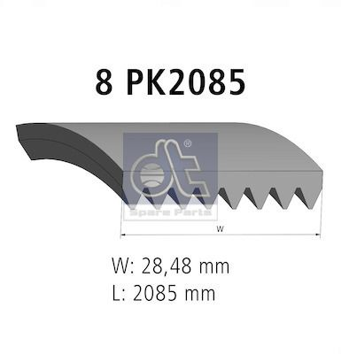 DT Spare Parts Holle bout (9.75007)