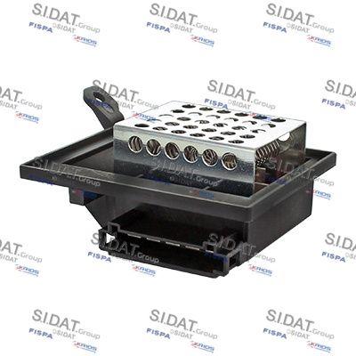 FISPA Weerstand, interieurventilator (10.9124)