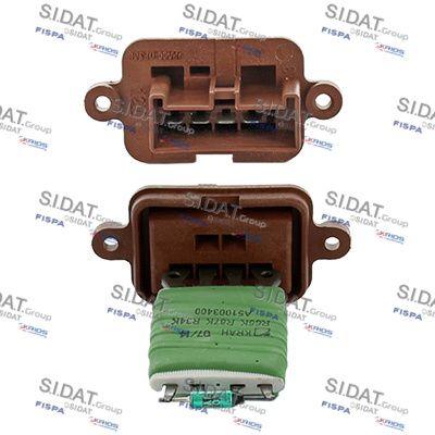 FISPA Weerstand, interieurventilator (10.9128)
