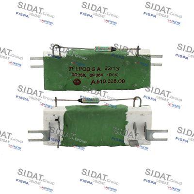 FISPA Weerstand, interieurventilator (10.9131)