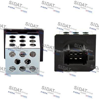 FISPA Weerstand, interieurventilator (10.9140)