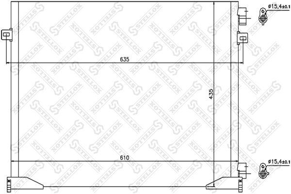 STELLOX Cabine-ophanging (87-09608-SX)